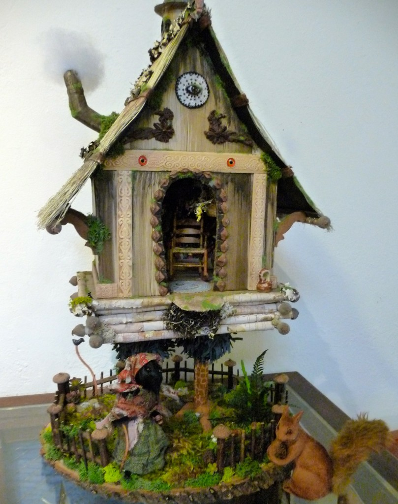 mouse house class sample