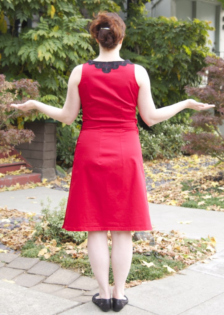 dress rear
