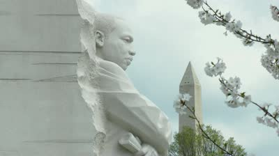 mlk and washington memorial